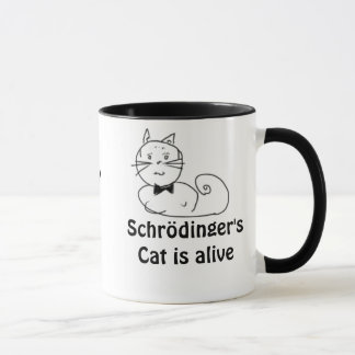 Mug Le chat de Schrödinger