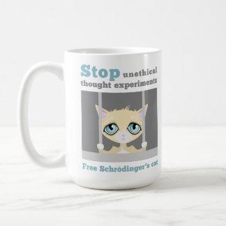 Mug Le chat de Schrodinger libre