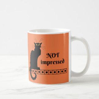 Mug Le Chat Noir non impressionné