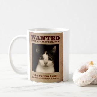 Mug Le chaton curieux de calicot