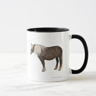 Mug Le cheval de Comtois est un cheval de trait -