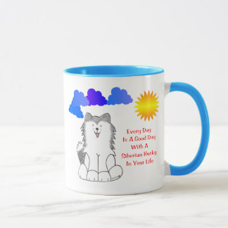 Mug Le chien de traîneau sibérien chaque jour est une
