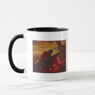 Mug Le Christ descendant sous le poids de la croix