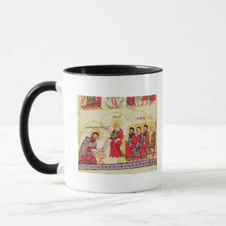 Mug Le Christ lavant les pieds de disciples