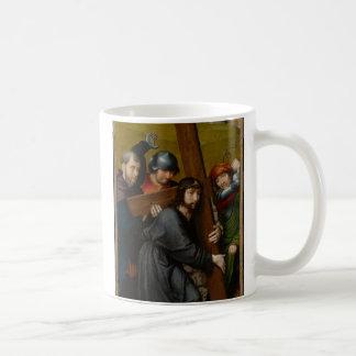 Mug Le Christ portant la croix, avec la crucifixion