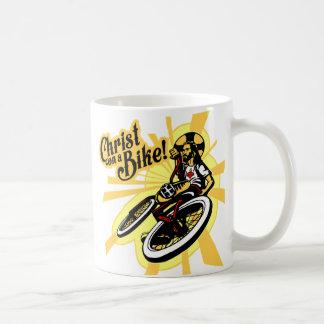 Mug Le Christ sur un vélo