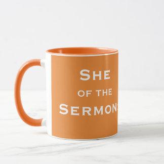 Mug Le clergé féminin drôle la surnomment - du Surmons