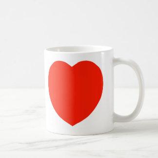 Mug Le coeur rouge