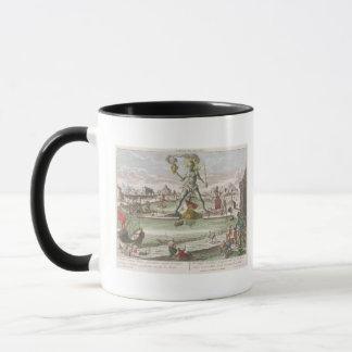 Mug Le colosse de Rhodes, deuxième merveille du monde
