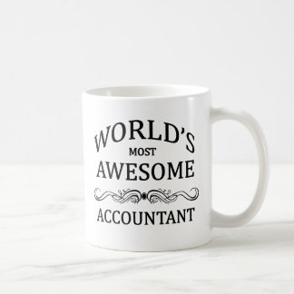 Mug Le comptable le plus impressionnant du monde