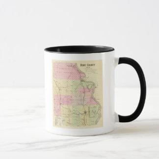 Mug Le comté de Burt, Nébraska