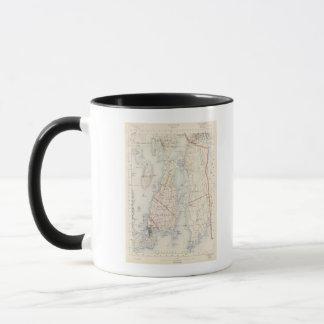 Mug Le comté de Newport, Île de Rhode