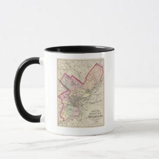 Mug Le comté de Philadelphia, ville