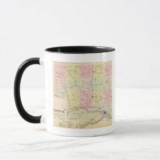 Mug Le comté de Platte, Nébraska