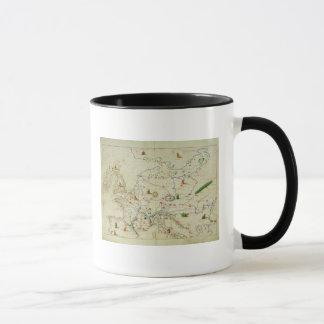 Mug Le continent de l'Europe