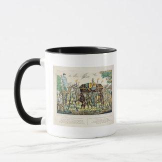 Mug Le cortège du chasseur, c.1850 (main colorée