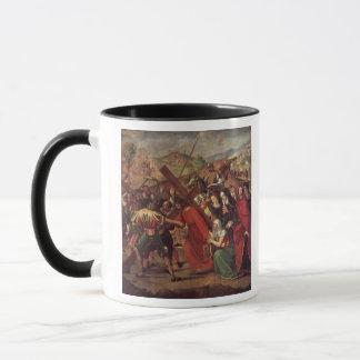Mug Le cortège vers le calvaire, c.1505