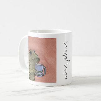 """Mug Le crapaud veut """"plus, svp"""" attaquent"""