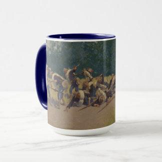 Mug Le cri perçant du shrapnel à la colline de San