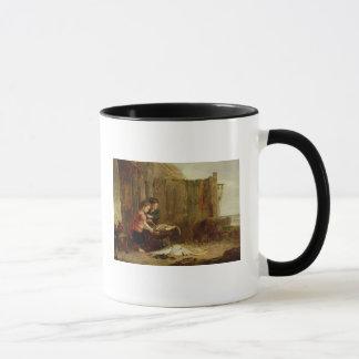 Mug Le crochet de matin, 19ème siècle