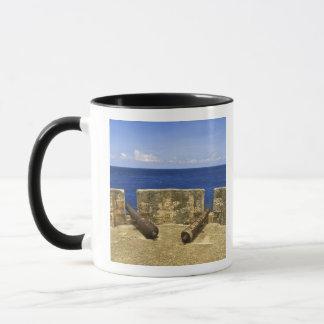 Mug Le Curaçao. Baie de Beekenburg Caracas de fort