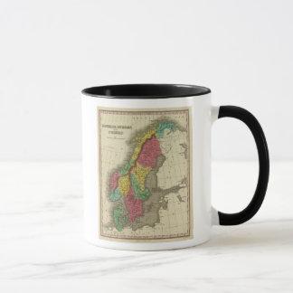 Mug Le Danemark, la Suède, et la Norvège