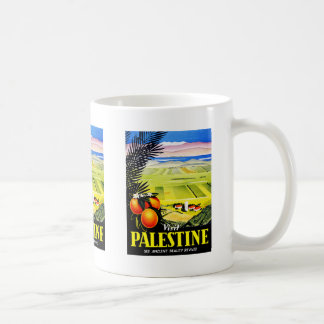 Mug Le ~ de la Palestine de visite voient la beauté