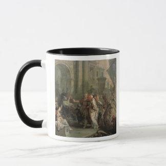 Mug Le débarquement de Cléopâtre au tarse (huile
