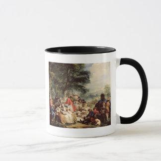 Mug Le déjeuner de chasse, 1737