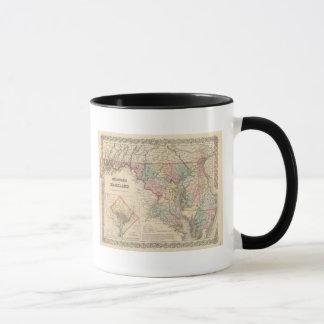 Mug Le Delaware et le Maryland