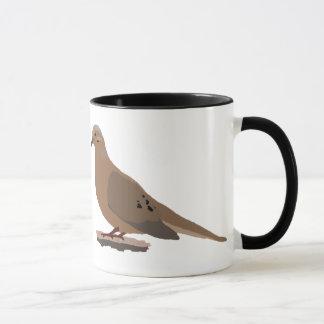Mug Le deuil, l'amour ou la tortue ont plongé oiseau