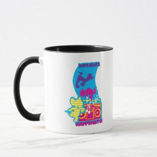 Mug Le dopant bat les pieds heureux