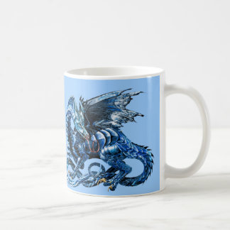 Mug Le dragon bleu -