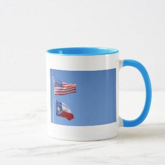 Mug Le drapeau américain marque des rayures d'étoiles