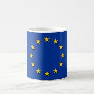 Mug Le drapeau d'Union européenne/UE diminuent