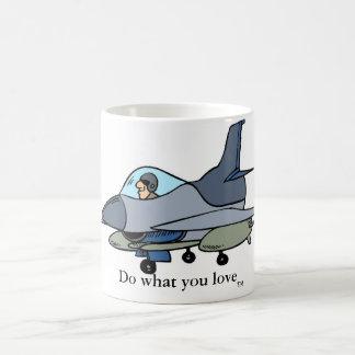 Mug Le F-16, font ce que vous aimez, le TM