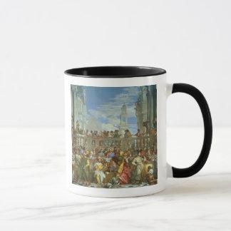 Mug Le festin de mariage chez Cana, c.1562 (huile sur