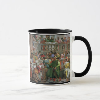 Mug Le festin de mariage chez Cana, détail de régaler