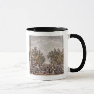 Mug Le festin de Virgil chez Mantua, 24 Vendemiaire,