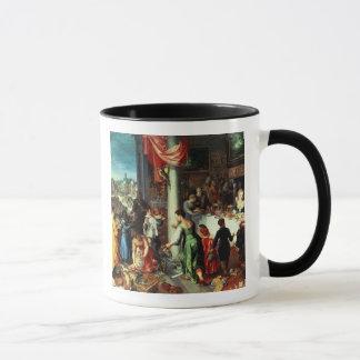 Mug Le festin d'hiver, recueillant à l'état bavarois