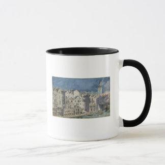 Mug Le feu chez le Pont Meuniers aux. en 1621
