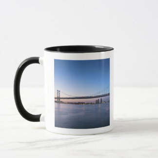 Mug Le fleuve Delaware, pont de Ben Franklin