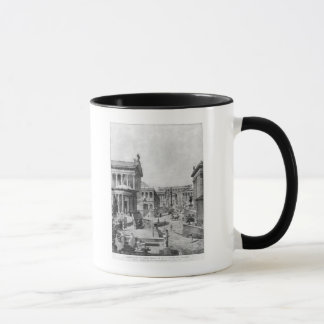 Mug Le forum romain d'Antiquity, 1914