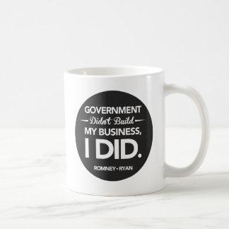 Mug Le gouvernement n'a pas construit mon bouton de
