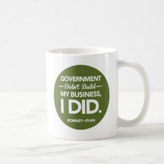 Mug Le gouvernement n'a pas établi mes affaires rondes