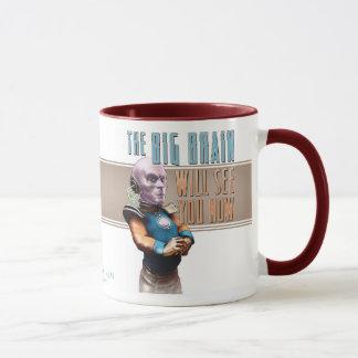 Mug Le grand cerveau vous verra maintenant attaquer