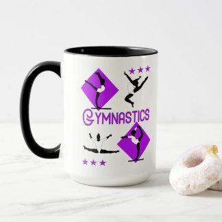 Mug Le gymnaste figure la gymnastique mignonne de