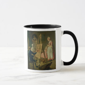 Mug Le jeune artiste, c.1760