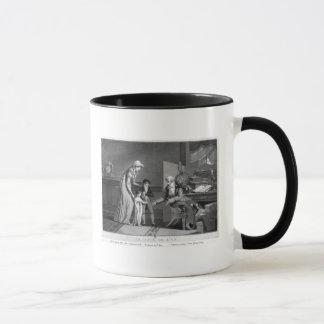 Mug Le jour de nouvelle année, 1807
