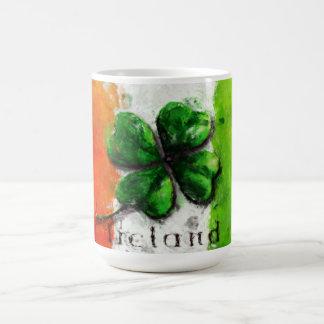 Mug Le jour de St Patrick - drapeau de l'Irlande de